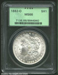 Morgan Dollars: , 1882-O $1 MS66 PCGS. A second superior example of this ...