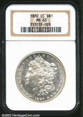 Morgan Dollars: , 1889-CC $1 MS63 NGC. The 1889-CC is the rarest of all ...