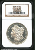 Proof Morgan Dollars: , 1879-O $1 PR64 Cameo NGC. The 1879-O branch mint proof ...