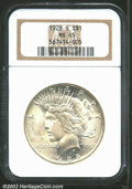 Peace Dollars: , 1928-S $1 MS65 NGC. The 1928-S is considered by many ...