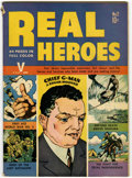 Golden Age (1938-1955):Non-Fiction, Real Heroes Comics #2 (Parents' Magazine Institute, 1941)Condition: FN-....