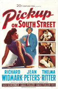 "Movie Posters:Film Noir, Pickup on South Street (20th Century Fox, 1953). One Sheet (27"" X41"")...."