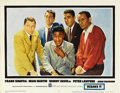 "Movie Posters:Crime, Ocean's 11 (Warner Brothers, 1960). Lobby Card Set of 8 (11"" X14"").... (Total: 8 Items)"