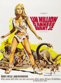 "Movie Posters:Adventure, One Million Years B.C. (20th Century Fox, 1966). French Grande (47""X 63"")...."