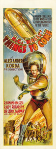 "Movie Posters:Science Fiction, Things to Come (United Artists, 1936). Pre-War Australian Daybill(15"" X 39.5"")...."