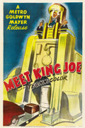 "Movie Posters:Animated, Meet King Joe (MGM, 1951). One Sheet (27"" X 41"")...."