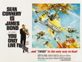 "Movie Posters:James Bond, You Only Live Twice (United Artists, 1967). British Quad (30"" X40"") Gyrocopter Style...."