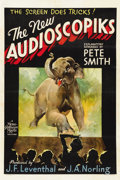 "Movie Posters:Short Subject, The New Audioscopiks (MGM, 1938). One Sheet (27"" X 41"")...."