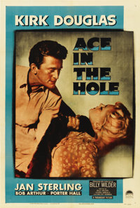 "Ace In The Hole (Paramount, 1951). One Sheet (27"" X 41"")"