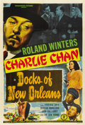 """Movie Posters:Mystery, Docks of New Orleans (Monogram, 1948). One Sheet (27"""" X 41"""")...."""