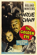 "Movie Posters:Mystery, The Golden Eye (Monogram, 1948). One Sheet (27"" X 41"")...."