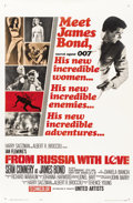 """Movie Posters:James Bond, From Russia with Love (United Artists, 1964). One Sheet (27"""" X 41"""") Style A...."""