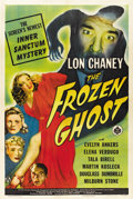 """Movie Posters:Horror, The Frozen Ghost (Universal, 1944). One Sheet (27"""" X 41"""")...."""