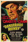 "Movie Posters:Drama, Dangerous Money (Monogram, 1946). One Sheet (27"" X 41"")...."