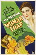"""Movie Posters:Crime, Woman Trap (Paramount, 1929). One Sheet (27"""" X 41"""") Style A...."""