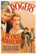 "Movie Posters:Comedy, In Old Kentucky (Fox, 1935). One Sheet (27"" X 41"") Style A...."