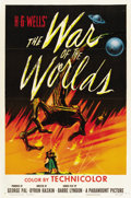 "Movie Posters:Science Fiction, The War of the Worlds (Paramount, 1953). One Sheet (27"" X 41"")...."