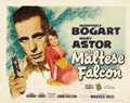 "Movie Posters:Film Noir, The Maltese Falcon (Warner Brothers, 1941). Title Lobby Card (11"" X14"")...."