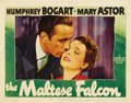 "Movie Posters:Film Noir, The Maltese Falcon (Warner Brothers, 1941). Lobby Card (11"" X14"")...."