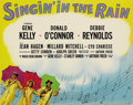 """Movie Posters:Musical, Singin' in the Rain (MGM, 1952). Deluxe Title Lobby Card (11"""" X14"""")...."""
