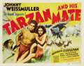 "Movie Posters:Adventure, Tarzan and His Mate (MGM, 1934). Title Lobby Card (11"" X 14"")...."