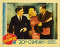 "Movie Posters:Comedy, 20th Century (Columbia, 1934). Lobby Card (11"" X 14"")...."