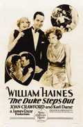 """Movie Posters:Sports, The Duke Steps Out (MGM, 1929). One Sheet (27"""" X 41"""")...."""