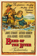 "Movie Posters:Western, Bend Of The River (Universal International, 1952). One Sheet (27"" X41"")...."