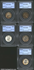 Washington Quarters: , 1939-D 25C MS66 PCGS, The obverse is densely toned with ...