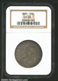 Bust Half Dollars: , 1820 50C Curl 2, Small Date XF45 NGC. O-103, R.2. There ...