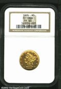 Proof Liberty Half Eagles: , 1905 $5 PR63 NGC. Ex: Pittman. Moderate hairlines are ...