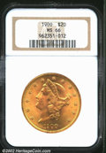 Liberty Double Eagles: , 1900 $20 MS66 NGC. Outstanding quality in a Type Three ...