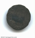 1652 SHILNG Willow Tree Shilling Fine 12 Damaged, Repaired Uncertified. Noe 3-D. 66.4 grains. Much of the obverse and re...