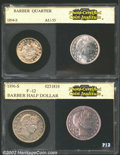 Additional Certified Coins: , 1894-S Quarter AU55 PCI (AU55), typically struck with ...