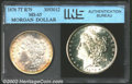 Additional Certified Coins: , 1878 7TF $1 Reverse of 1879 Silver Dollar MS63 INS (MS63)....