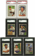Baseball Cards:Sets, 1952 Bowman Baseball Complete Set (252). This issue features the colorful artwork that the early 1950's Bowman issues were k...