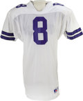 Football Collectibles:Uniforms, 1989 Troy Aikman Game Worn Rookie Jersey. For many collectors, it just doesn't get any better than a Hall of Fame rookie ga...