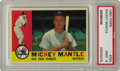 Baseball Cards:Singles (1960-1969), 1960 Topps Mickey Mantle #350 PSA Mint 9. You'll never find asuperior example of this American League Championship season ...