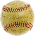 Autographs:Baseballs, 1951 New York Yankees Team Signed Baseball. The most desirable post-war sphere in Yankees history, and arguably the post-wa...