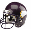 Football Collectibles:Helmets, 1989-90 Herschel Walker Game Worn Helmet. Perhaps the greatest nomadic runner of all time. Seldom in the history of the NF...