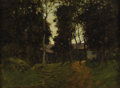 Fine Art - Painting, American:Modern  (1900 1949)  , PAUL CORNOYER (American 1864-1923). The Old Inn. Oil on panel. 12 x 16 inches (30.5 x 40.6 cm). Signed lower left. Pro...
