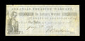 Obsoletes By State:Arkansas, Little Rock, AR- Arkansas Treasury Warrants $1 Jan. 7, 1862 Cr. 4 Rothert 377-1. This is an extremely rare note weighing in ...