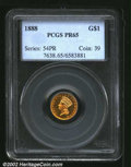 Proof Gold Dollars: , 1888 $1 PR 65 PCGS. Mintage: 1,000. The current Coin Dealer ...