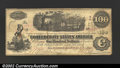 Confederate Notes:1862 Issues, An Advertising Note on an 1862 T-40, VF, with a few scattered ...