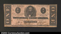 Confederate Notes:1862 Issues, 1862 $1 Clement C. Clay, T-55, VF. ...