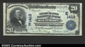 National Bank Notes:Maryland, Baltimore, MD - $20 1902 Plain Back Fr. 658 Merchants ...