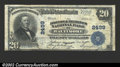 National Bank Notes:Maryland, Baltimore , MD - $20 1902 Plain Back Fr. 659 Drovers and ...