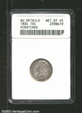 Bust Dimes: , 1834 10C Small 4 XF45 ANACS. Mintage: 635,000. ...