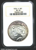 Peace Dollars: , 1926-S $1 MS60 NGC. Mintage: 6,980,000. The latest Coin ...