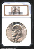 Eisenhower Dollars: , 1971-S $1 Silver MS65 NGC. Mintage: 2,600,000. The latest ...
